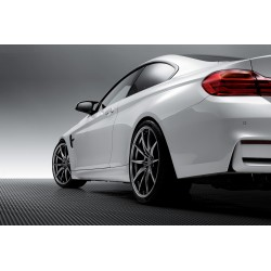 WedsSport FT-117 Diamond Silver on BMW M4